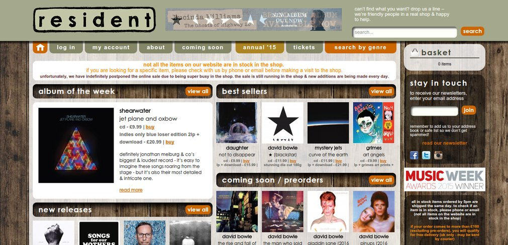 homepage-resident-music-jay-alvarez-ui-design